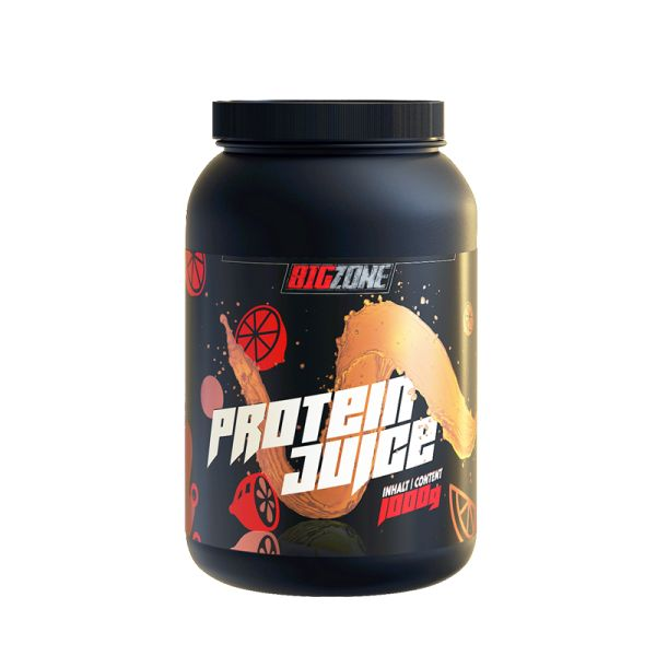 Protein Juice | Whey Protein Isolat | 1000g | Big Zone