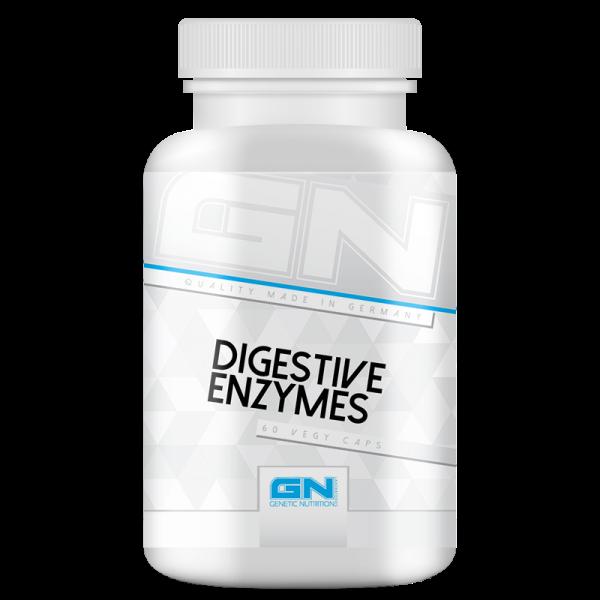 Digestive Enzymes Health Line   Enzyme für Verdauungsprobleme   60 Kapseln   GN