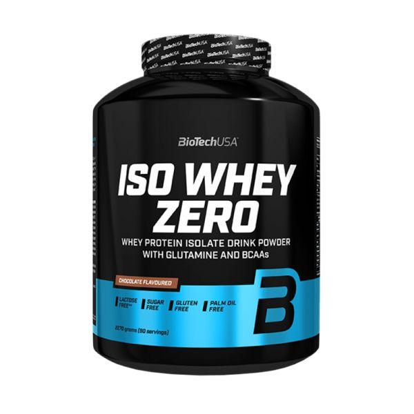 Iso Whey Zero | Protein Isolat Eiweiss | 2270g | BioTech USA